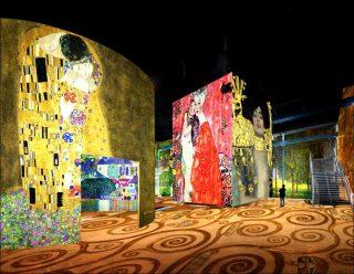 Nuit de Chine, simulation, Atelier des Lumières