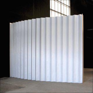Julie Conrad, paravent Unpaper, 2015