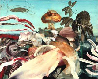 Bikini, peinture, Adrian Ghenie