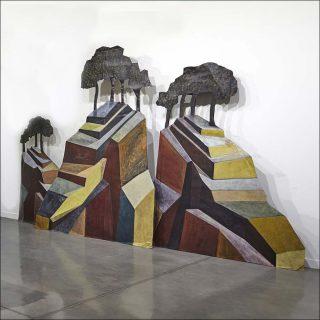 Sans titre, vue d'exposition, Lucio Fanti