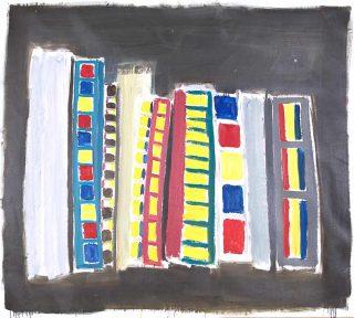 Damien Cabanes peinture
