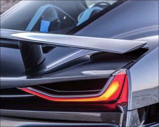 Rimac Automobili (Mate Rimac), voiture sport électrique semi-autonome C Two, 2018