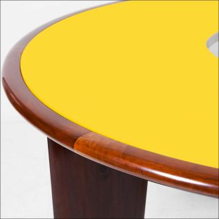 Joaquim Tenreiro, Yellow Table, vers 1960