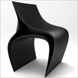 Daniel Widrig et Nagami Design, fauteuil Peeler, 2018