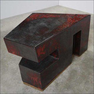 Armelle Benoit, table Le Rouge et le Noir, 2016