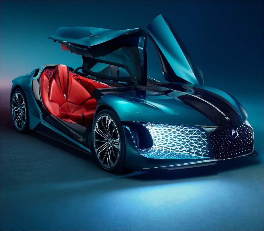 """Design: Expo """"Concept Cars"""", Au Festival Automobile"""