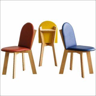 Patrick de Glo De Besses, chaises Cartier, 2015