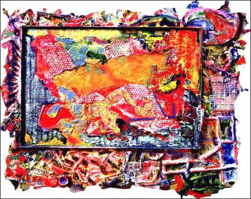 Frank stella bruce nauman paris art for Frank stella peinture