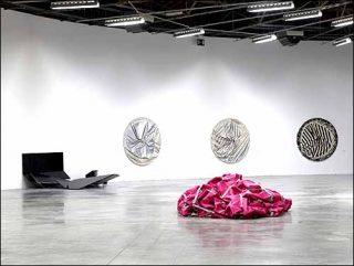 Steven parrino palais de tokyo la marque noire for Art minimal livre