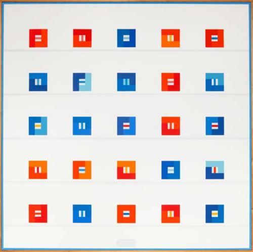 L abstraction g om trique belge marcel louis baugniet for Abstraction geometrique peinture
