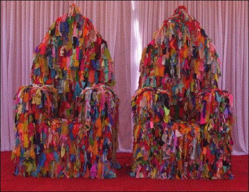 Saris plastiques et objets transform s paris art - Objets recuperes et transformes ...