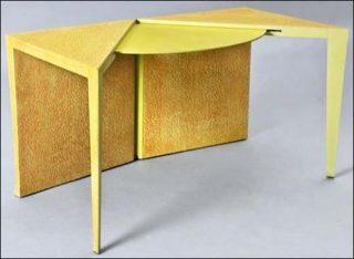 exposition de tables design galerie des gobelins paris art. Black Bedroom Furniture Sets. Home Design Ideas