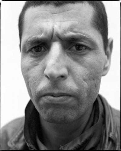 Olivier Pasquiers, «Nous ...notre corps», 2002-2003. 50 cadres (30 photographies et 20 textes). 40 x 50 cm.