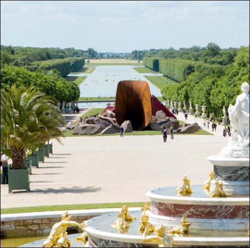 Anish kapoor sculpture les jardins du ch teau de - Le jardin de versailles histoire des arts ...