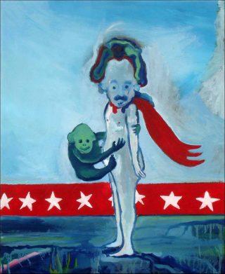 Super Singe, peinture, Vincent Gicquel