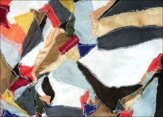 Drapeau de chutes, drapeau, Diana Righini