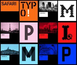 Safari Typo, Mosaïque, Les Films d'Ici