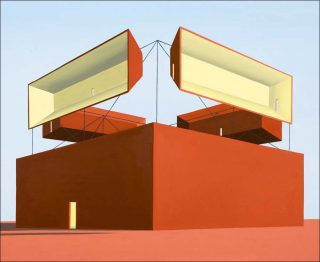 Horizont VII, peinture, Thomas Huber