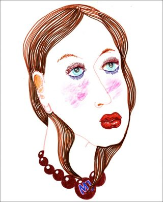 Woman in 68 colors, dessin, Mathias Augustyniak