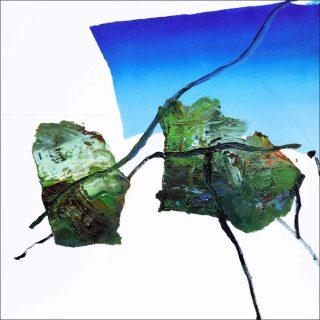 Notes pour un paysage, peinture, Cyril Olanier