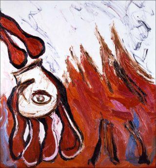 Les Décapités, peinture, Karel Appel