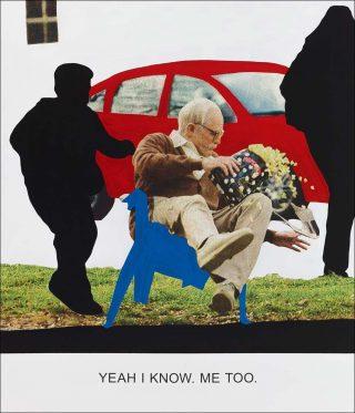 Yeah I know, peinture, John Baldessari