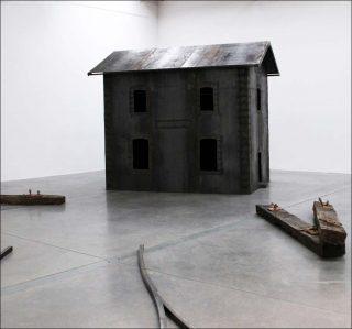 La gare de nulle part, installation, Thierry Liegeois