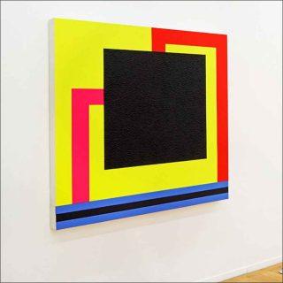 Parallels, peinture, Peter Halley