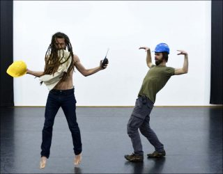 The Spleen, danse contemporaine,Frank Micheletti et Charles Robinson