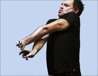 Derrière le blanc, danse contemporaine, Jean-Antoine Bigot