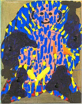 Nakkiz pour Paris, peinture, Philipp Schwalb