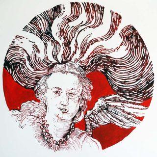 Materia prima, peinture, Elli Chrysidou