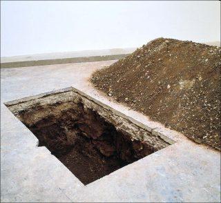 Maurizio Cattelan, installation
