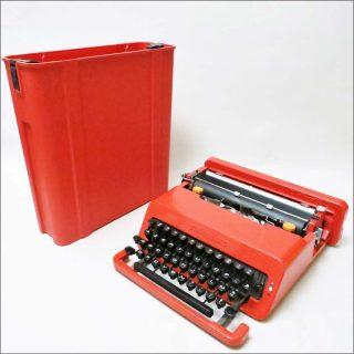 Valentine, machine à écrire, Ettore Sottsass