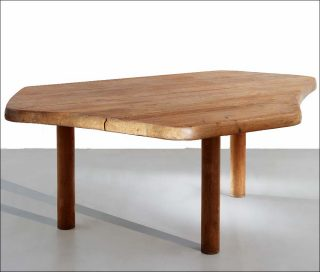 Table à six pans, Charlotte Perriand