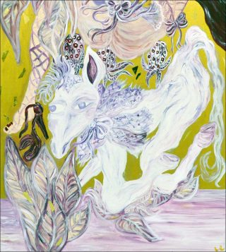 Dolores 2028 N.6, peinture, Lucile Littot