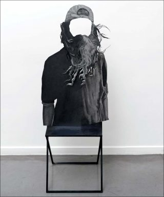 (Dé)placements, installation, Daniel Otero Torres