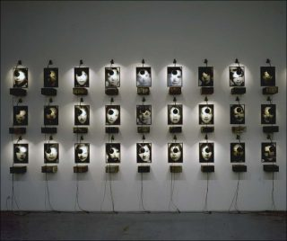 Archives, installation, Christian Boltanski
