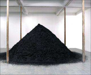 Sans titre (Le Terril), installation, Stéphane Thidet