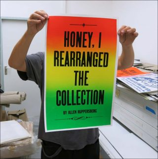 Honey, I rearranged the collection, affiche, Culturgest