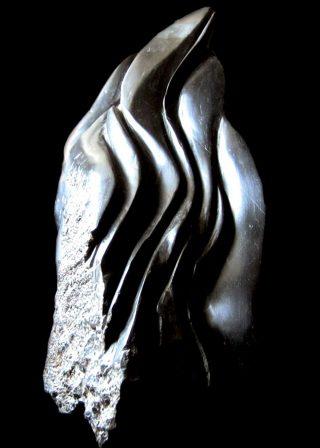 Verticale, sculpture, Maurizio Del Piano