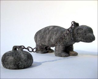 Chained Fret, sculpture, Stefan Rinck