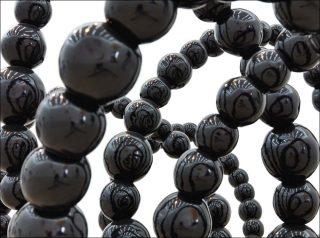 Black Lotus, sculpture, Jean-Michel Othoniel