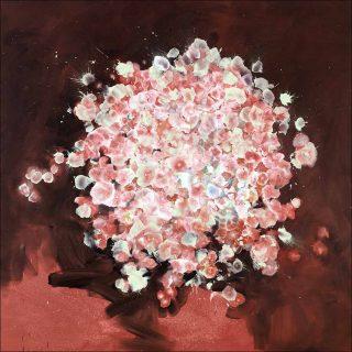 Sperm flowers 22, peinture, Bruno Perramant