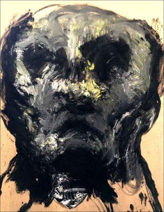 Portrait, peinture, Lydie Arickx