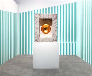 Untitled, Une diagonale pour un périmètre, installation, Anish Kapoor, Daniel Buren