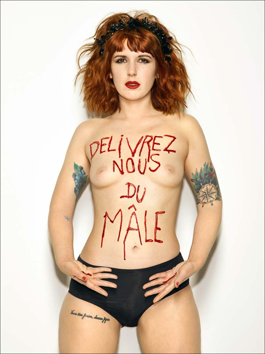 Sarah Constantin, Délivrez nous du Mâle, photo, Bettina Rheims