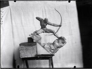 Héraklès, sculpture, Antoine Bourdelle
