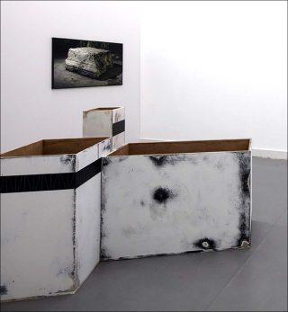 Réservée, installation, Marie Ouazzani & Nicolas Carrier