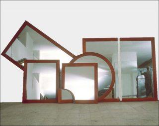 Il disegno dello specchio, installation, Michelangelo Pistoletto